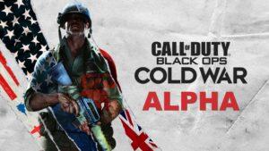 Black Ops Cold War Alpha