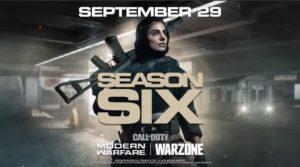 Modern Warfare Warzone Season 6