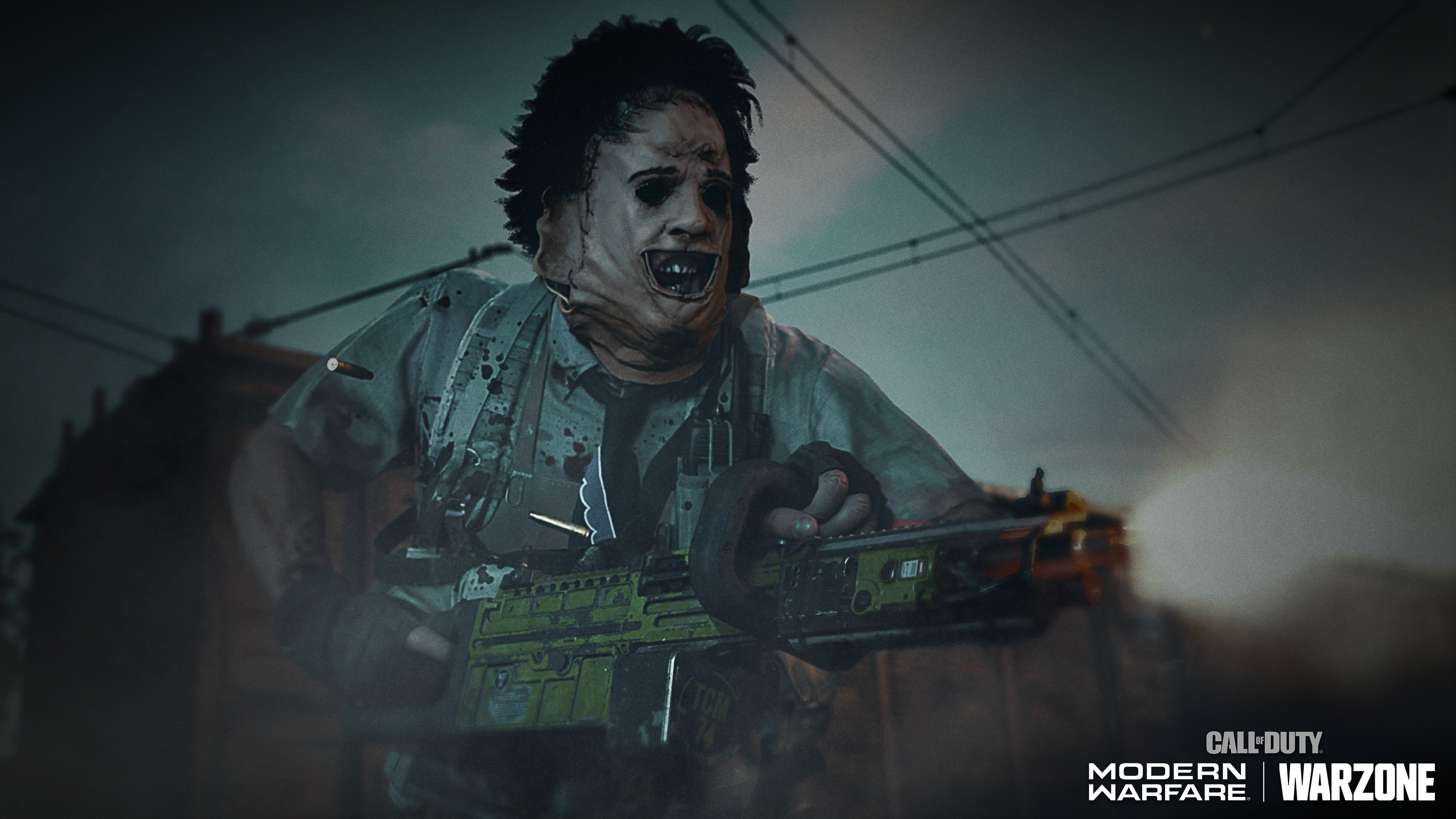 Leatherface in Call of Duty